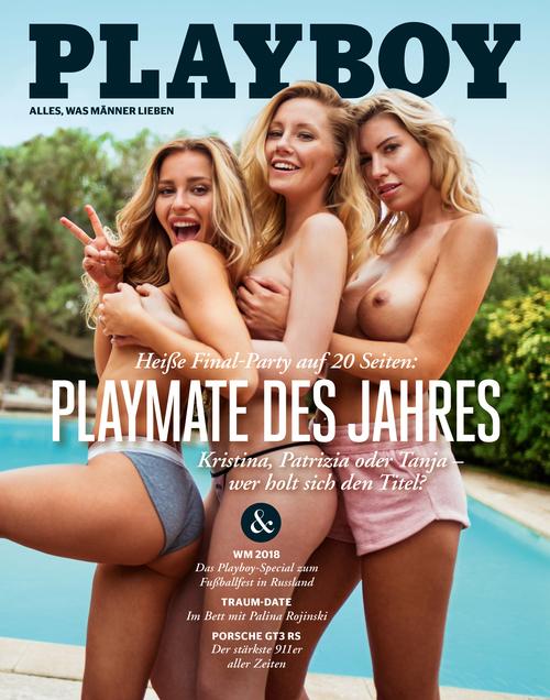 Playboy nackt patrizia dinkel im Playmates in