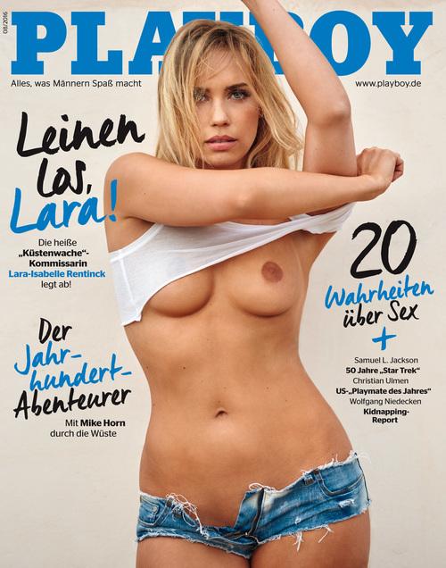 Rentinck nackt isabelle playboy lara Lara isabell